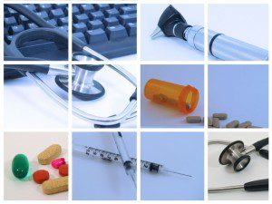 healthcare devices collage